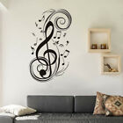 Removable Vinyl Musical Note Wall Sticker Music Art Wall Sticky Decal Decoration