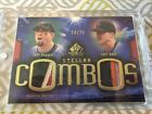 2004 SP GAME USED PATCH STELLAR COMBOS Bagwell & Kent 25