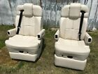 Flexsteel RV Captains Chairs Seats PAIR motorhome coach USED