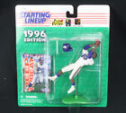 1996 Starting Lineup Cris Carter Minnesota Vikings Figure w/Cards MOC New/Sealed