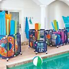 Pool Accessories Storage Toys Organizer Mesh Rolling Bin Variable Sizes