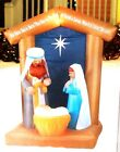 CHRISTMAS INFLATABLE AIRBLOWN 65 FT LED NATIVITY SCENE