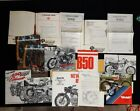 Berliner vintage press package, Ducati Sport 750GT, Moto Guzzi V7 850 bevel twin
