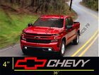 Chevrolet Silverado Cruze Windshield Graphic Vinyl Decal Sticker Vehicle Logo