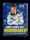Vintage 1979 O Pee Chee James Bond Moonraker Movie Trading Cards Box