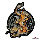 Power Dragon Fantasy Large Embroidered Patch Iron On  Sew On 3 Sizes