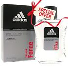 New Men's Adidas TEAM FORCE Edition After Shave 3.4 Fl Oz SEALED NEW