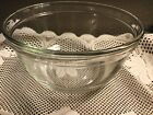 Vintage Anchor Hocking 2.5 QT Clear Glass Mixing Bowl Serving Bowl #7