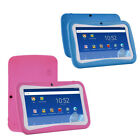 Quad Core 7 Inch Kids Tablet PC Android 70 Dual Camera HD WiFi 8GB Bundle Case