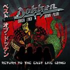 Dokken - Return To The East Live 2016 8024391086049 (CD Used Very Good)