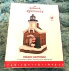 2016 5th HALLMARK Holiday Lighthouse CHRISTMAS ORNAMENT NIB Needs Magic Cord NEW