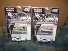 HOT WHEELS LOT OF 2 HALL OF FAME 1968 MUSTANG COBRA JET  1967 GRUMPY CAMARO SET