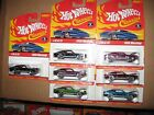 HOT WHEELS CLASSICS 1968 MUSTANG SERIES 1 LOT OF 7 DIFFERENT COLORS FULL SET