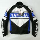 Motorcycle For Yamaha Mens Classic Brace Speed Jacket Sportbike Bike Blue Red