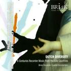 BANIS / BRISK RECORDER QRT AMSTERDAM: DUTCH DIVERSITY: RECORDER MUSIC (CD.)