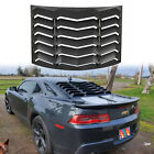Rear Window Louver Sun Shade Cover Matte Black ABS fit Chevy Camaro 2010 2015