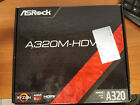 ASROCK A320 HDV BACKPLATE MANUAL BOX NO MOTHERBOARD INCLUDED
