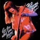 PAT TRAVERS : LIVE: GO FOR WHAT YOU KNOW (CD) Sealed
