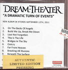 dream theater a dramatic turn of events cd promo