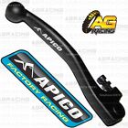 Apico Black Forged Front Brake Lever For Gas Gas EC 250 Six Days 2012
