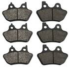 00-07 Harley Electra Glide Ultra Classic Semi Metallic Front & Rear Brake Pads