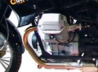 Moto Guzzi Quota 1000/1100 ES Engine protection bar Black BY HEPCO AND B