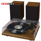 NEW Crosley C62A WA 2 Speed Bluetooth Turntable Record Player with Speakers