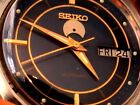 VINTAGE SEIKO MEN'S AUTOMATIC #7009,ALL STAINLESS STEEL,WAS SERVICED,NEW CRYSTAL