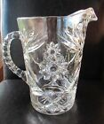 Anchor Hocking Early American Prescut Water Iced Tea Pitcher  Excellent!