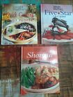 LOT 3 Weight Watchers Cookbooks Five Star Recipes Quick Cooking