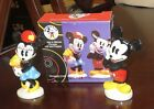 VTG MIB Salt  Pepper Shakers Mickey  Minnie Mouse