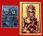 MARS ATTACK ORIGINAL SKETCH CARDS-FROM IDW BLUE LABEL BOOKS *ONLY 50 SETS* RARE