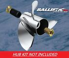 Ballistic XHS 10 1 8 x 13 933013 Stainless Propeller For Mercury 99 25HP