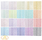3300PCS Self Adhesive Colorful Rhinestone Crystal Diamonds Stickers DIY Crafts