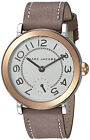 Marc Jacobs MJ1603 Riley White Dial Brown Leather Strap Women's Watch