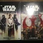 Star Wars Topps Rogue One Series 1+2 Unopened Hobby Box Lot.