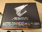 GIGABYTE AX370 GAMING K5 BACKPLATE MANUAL BOX NO MOTHERBOARD INCLUDED