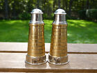 Unique Brass Lighthouse Salt  Pepper Shakers Made By AM India