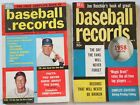 1957 & 1958 Dell Baseball Records Ted Williams Stan Musial