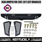 Fit 2007 18 Jeep Wrangler JK Front Bumper 120W LED Light bar 4PCS 16W Led Lights