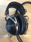 Vintage 1970's Pioneer Model SE-505 Black Headband Headphones  -VGC-