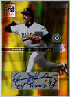 2004 Elite DENNIS ECKERSLEY Inscribed HUSTON STREET RC Auto Passing Torch SP 10