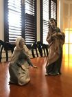 Nao by Lladro Spain NATIVITY SET, Mary and Joseph (no baby Jesus)