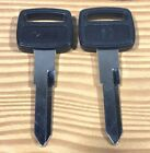 2 Honda Grom and Reflex Key Blanks for 8 digit key codes Type 1 Square Head