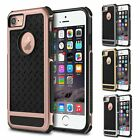For iPhone 6 6S 7 8 Plus Case Hybrid Hard Heavy Duty Shockproof Rubber Cover