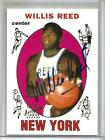 Willis Reed 1996 Topps Stars Rookie Reprint Autograph