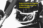 Suzuki DR 650 R DAKAR ab Bj. 92 Engine guard Black BY HEPCO AND BECKER