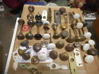 vtg door knob and backplate lot