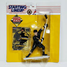 LUC ROBITAILLE - Starting Lineup SLU NHL 1995 Figure & Card PITTSBURGH PENGUINS