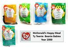 McDonald's Happy Meal: Ty Teenie Beanie Babies – Year 2000